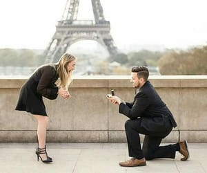 amor, lovers, and proposal image