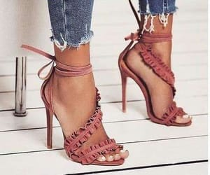 fashion shoes, heels, and shoe lovers image