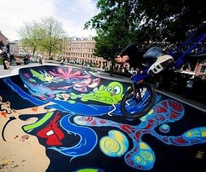 bmx, skatepark, and freestyle image
