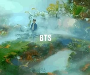gif, bts, and lotte duty free image