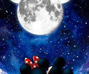disney, girl, and mickey mouse image