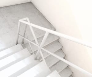 aesthetic, stairs, and white image
