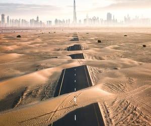 adventure, desert, and landscape image