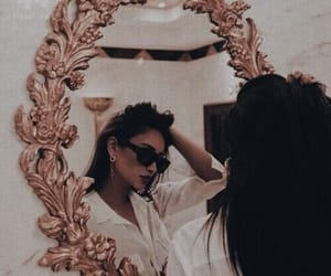 mirror, girl, and style image