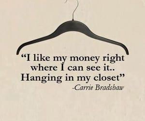 closet, money, and quote image