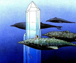 animals, moebius, and art image