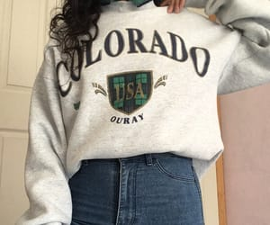 colorado, outfit, and sweatshirt image