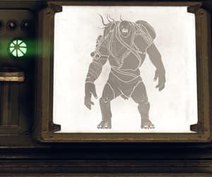 creature, fallout, and goliath image