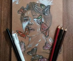 art, jimin, and butterfly image