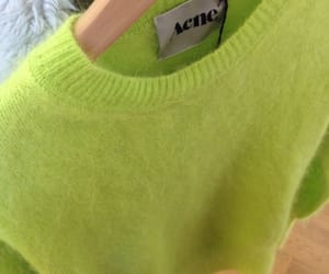 acne, fashion, and green image
