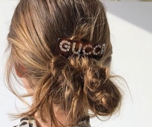 hair, accessories, and girl image