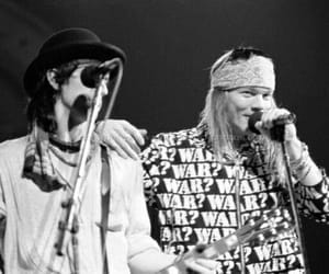 Guns N Roses, axl rose, and izzy stradlin image