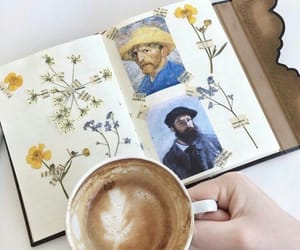 coffee, aesthetic, and art image