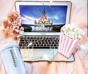 disney, movie, and popcorn image