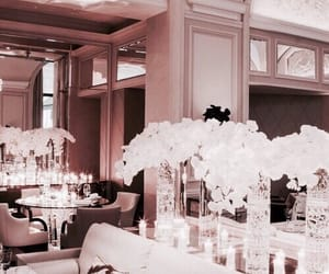 luxury, flowers, and rose gold image