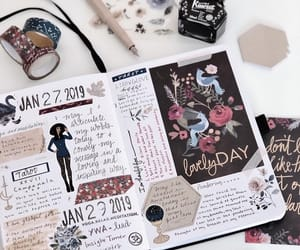 diary, inspiration, and school image