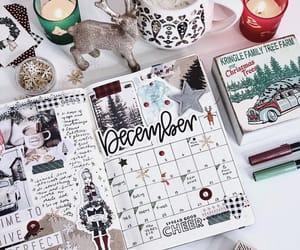 calendar, journaling, and studygram image