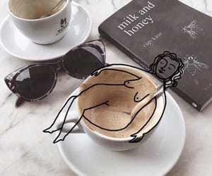 coffee and milk and honey image