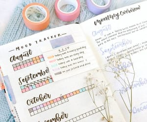 flowers, journaling, and page ideas image