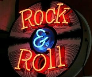 neon, music, and rock & roll image