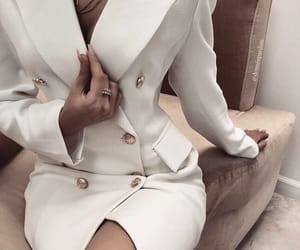 blazer, dress, and classy image