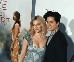 couple, lili reinhart, and liliandcole image
