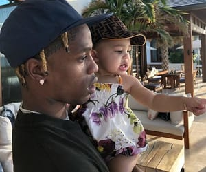 travis, kylie jenner, and kylie image