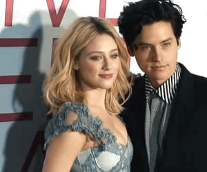 actors, couple, and lili reinhart image
