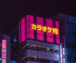 cyberpunk, night, and place image