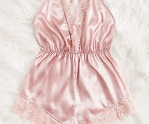 lace, lingerie, and pink image
