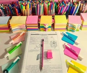 study, desk, and exam image