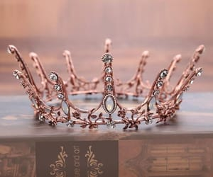 books, crown, and photo image