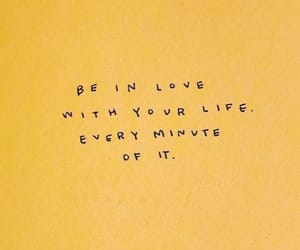 quotes, yellow, and life image