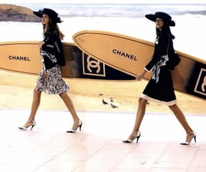 chanel, fashion, and surf image