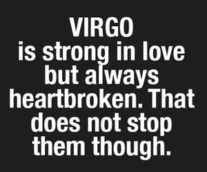 astrology, heartbreak, and virgo image