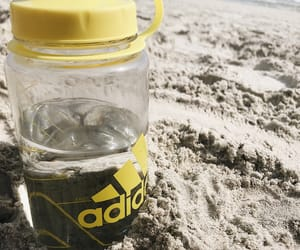 adidas, chill, and beach image