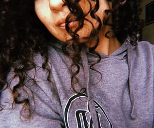 curls, girl, and curly image