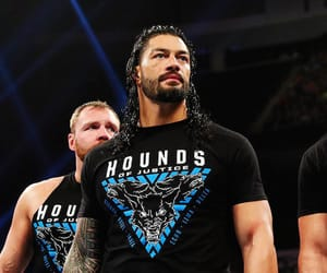 the shield, roman reigns, and wwe image