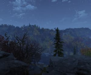 fallout, night, and outdoors image