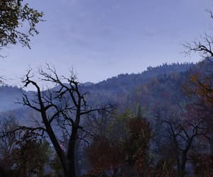 evening, fallout, and night image