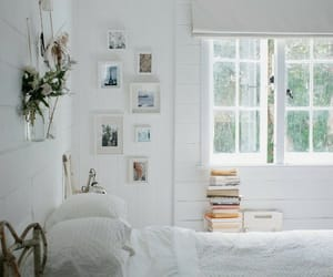 bedroom, home, and cottage image