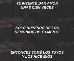 aesthetic, cancion, and demons image