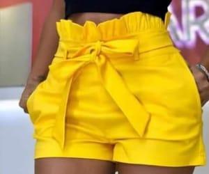 short, summer, and yellow image