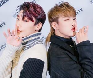 ateez, choi san, and hongjoong image