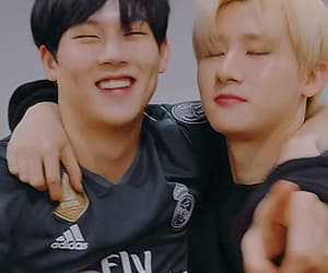 gif, changkyun, and jooheon image
