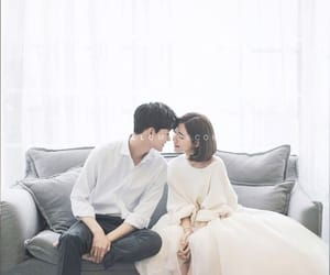 wedding, cute, and prewedding image