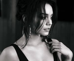 vanessa hudgens, black and white, and celebrity image