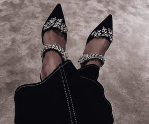 details, shoes, and heels image