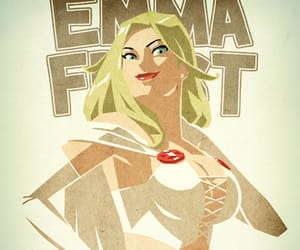 art, emma frost, and fandom image
