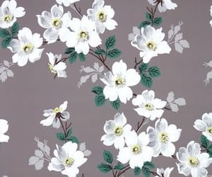 art, flower pattern, and background image